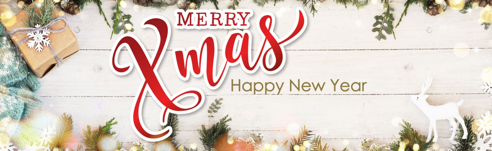 Happy New Year & marry Chirstmas